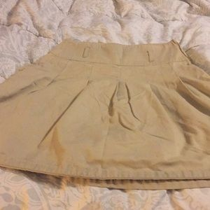 Us polo assn tan uniform skirt